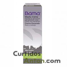 BAMA CREMA ENCERADA  Crema de alta calidad en tubo que protege, y renueva la piel encerada, cordoban, etc. Proporcionando un acabado mate y una piel nutrida, renovada y protegida