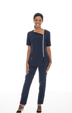 Large Selection of Stylish Nursing Uniforms available in various trendy styles and colours I We offer full in house branding I Azulwear cape town, durban, gauteng, south africa Nursing Tunic, Nursing Tops, Nursing Uniforms, Corporate Outfits, Custom Made Clothing, Running Shirts, Golf Shirts, Trendy Fashion, Style Me
