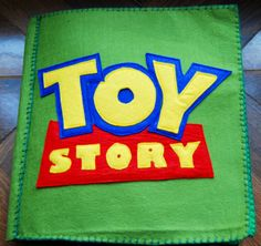The Quiet Book Blog: Magda's Toy Story Quiet Book