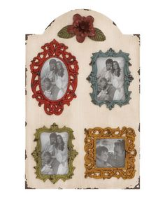 Look what I found on #zulily! Wood Wall Photo Frame #zulilyfinds
