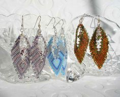 autumn earrings | Autumn Leaf Earrings