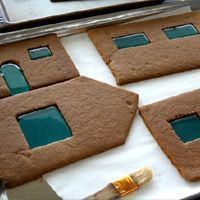 Incredible in-depth gingerbread house instructions... Some day I may make one of these. Haha