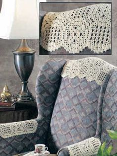 Antimacassar Set: I remember Mom used to use these when I was growing up.