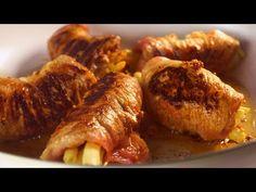 Te roladki to po prostu poezja! Takiego połączenia na pewno nigdy nie próbowaliście! Polish Food, Polish Recipes, Beef Dishes, Pork, Food And Drink, Youtube, Diet, Meat, Kale Stir Fry