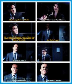 Agents of S.H.I.E.L.D. --see, this is what I was trying to explain to Zac and Boone. We just weren't level 7. 0_0 ...but now I am ^-^