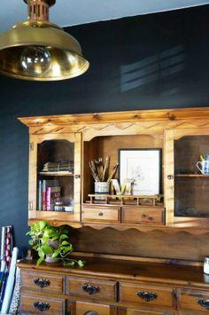 Trendspotting: Black walls are making a bold statement in interior design!