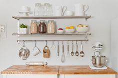 Cozy.Cottage.Cute.: Ugly Kitchen Quick Fix: Kitchen Carts x 2