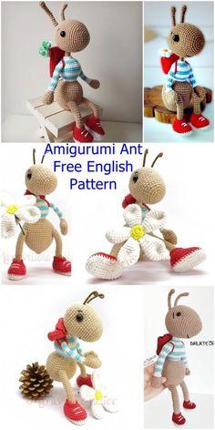 plus Amigurumi Ant Free Crochet Pattern – Crochet.plus Crochet Hairband – BiquínFree crochet pattern: BabThe most beautiful Amigurumi P