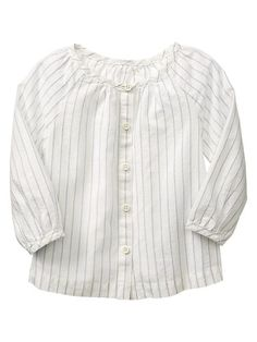 Dobby pinstripe top Product Image