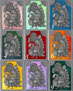 Indian Peacock pattern art print Kalamkari art print home image 3 Kalamkari Painting, Madhubani Painting, Indian Art Paintings, Cool Paintings, Landscape Paintings, Peacock Pattern, Pattern Art, Doodle Art Drawing, Art Drawings