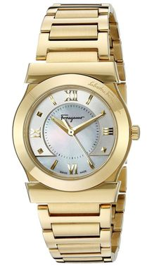 Vega Yellow Gold Ion-Plated Watch FI1940015, 32mm