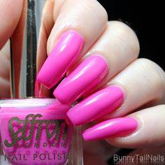 BunnyTailNails: Sanna Tara Nail Art - Saffron 33