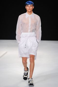 Christopher Shannon | Spring 2014 Menswear Collection | Style.com