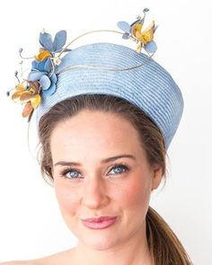 """51 Likes, 4 Comments - @felicitynortheastmillinery on Instagram: """"Blues a favourite colour this year and I'm sure we will see more shades in 2016 #millinery #hats…"""""""