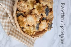 biscottini al parmigiano vert