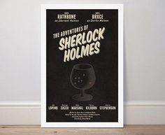 Movie poster 'The Adventures of Sherlock Holmes'