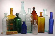Vintage medicinal bottles (For Venecine)