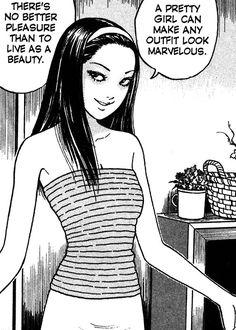 Junji Ito, Manga Art, Manga Anime, Anime Art, Black Cartoon, Cartoon Icons, Aesthetic Art, Aesthetic Anime, Arte Punk
