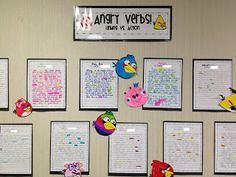The Heart of 3rd: Angry Verbs!