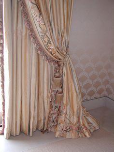 Florio Collection Inc. Elegant drapes