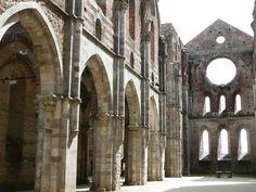 Zisterzienser-Kloster - San Galgano(Cistercium.info) Italy, History, Pictures