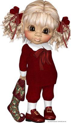 "Photo from album ""Рождественские Эльфы"" on Yandex. Christmas Mix, Bratz Doll, Little Designs, Anime Dolls, Cute Cookies, Cartoon Pics, Cartoon People, Fairy Art, Fairy Dolls"