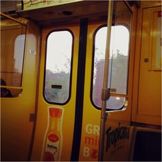The Tropicana Car on the brown line.