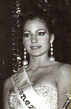 Miss Venezuela 1966 Magaly Castro Egui no clasificó en el mis Universo