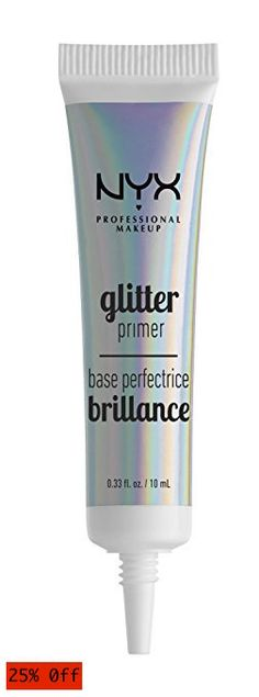 Brand: NYX Features: A lightweight, easy-to-use glitter primer specially formulated to keep our Face & Body Glitters in place Vibrant glitter makeup for the Glitter Face Makeup, Nyx Makeup, Body Glitter, Makeup Primer, Body Makeup, Beauty Makeup, Glitter Vinyl, Makeup Brush Storage, Makeup Organization