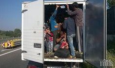 "Камион с 21 нелегални мигранти катастрофира АМ ""Тракия"" - http://novinite.eu/kamion-s-21-nelegalni-migranti-katastrofira-am-trakiya/"