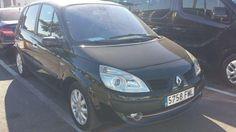 Renault scenic, color negro, con 150.000 km diesel, manual, con 105cv, 1.500dci, del 2007, en perfecto estado, mejor ver y probar, a/a, d/a, c/c,