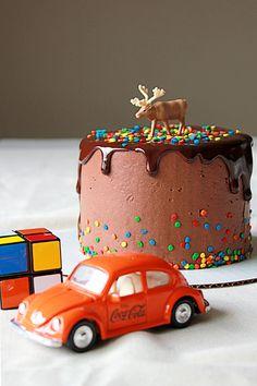 Carnival Chocolate Cake