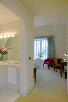 Hotel Villa Soro. The 25 rooms of Villa Soro are distributed between the two buildings of the hotel; the main villa and the ancient caballerizas.  #SanSebastian #Euskadi #hotel #travel
