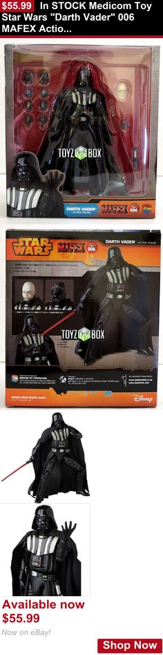 Telescopes: In Stock Medicom Toy Star Wars Darth Vader 006 Mafex Action Figure BUY IT NOW ONLY: $55.99