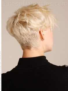 Modern Madness short hairstyle for thick hair...Great style after Hair returns after those Chemo Treatments.....