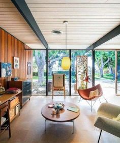 Marvelous mid century glam living room only on this page
