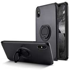 Fitted Cases Intelligent For Iphone 5s 5c Se 6s 6 7 8 Plus X Xs Pu Soft Silicon Two In One Magnetic Bracket Finger Ring Kickstand Matte Shell With Holder Good Companions For Children As Well As Adults Phone Bags & Cases