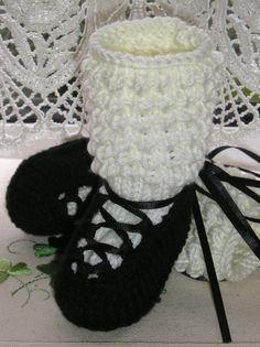 Baby poodle sock pumps from Ewe2U.