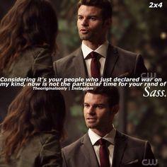 "#TheOriginals 2x04 ""Every Mother's Son""  - Elijah"