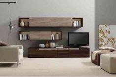 déco de salon avec meuble en bois