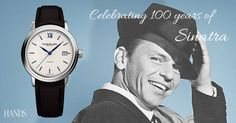 Raymond Weil's Sinatra Maestro watch proving that you can't beat a classic!