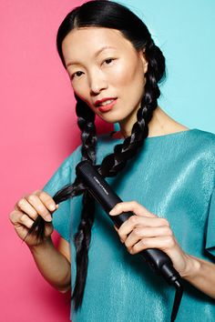 1 Flat Iron, 5 Amazing Looks #refinery29 www.refinery29.co...  Count to five for each clamp and then move down the hair, making sure you count the same number of seconds for each clamp.