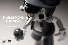 Skulltoons the Pino. Mono Version. on Behance Product Design, Behance, Branding, Brand Management, Identity Branding