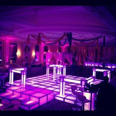 You've never seen these before! Our railings are one of a kind. LED illuminated, strong, and unique. This is why Portadecor is the leader in the LED dance floor industry. Imitated by many, outdone by none!