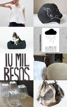 Black Gifts by Ilona on Etsy--Pinned with TreasuryPin.com