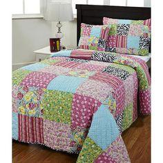 Kassie 3-piece Twin-size Quilt Set
