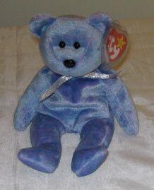 CLUBBY II THE BEAR - Ty Beanie Baby (Beanies e3076f644176
