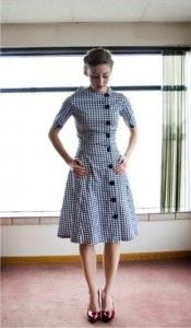 Houndstooth dress - 39 Cheap and Affordable Winter Dresses for Women Pretty Dresses, Women's Dresses, Dresses Online, Vintage Dresses, Vintage Outfits, Vintage Fashion, Work Dresses, Vintage Inspired Dresses, Bride Dresses