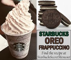 Starbucks Oreo Frappuccino Here's a chocolate cookie favorite! A classic flavor, and definitely worth trying out! Starbucks Oreo Frappuccino Here's a chocolate cookie favorite! A classic flavor, and definitely worth trying out! Starbucks Frappuccino, Bebidas Do Starbucks, Starbucks Coffee, Iced Coffee, Coffee Art, Coffee Break, Oreo Starbucks, Morning Coffee, Yummy Drinks