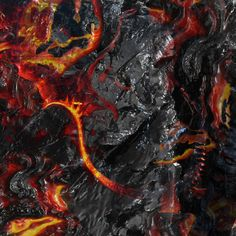 MSI Dragon Logo Burning Lava Background 4k wallpaper MSi